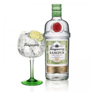 Gin Tanqueray Rangpur 700 ml + Taça Vidro Oficial 600 ml