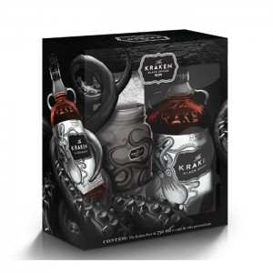 Rum Kraken 750 ml com Kit Copo Kraken