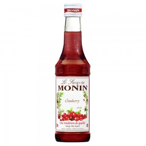 Xarope Monin Cranberry 250 ml