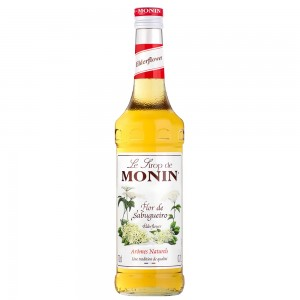 Xarope Monin Elderflower - Flor Sabugueiro 700 ml