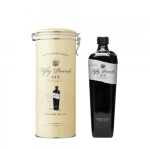 Gin Fifty Pounds 750 ml Lata Amarela