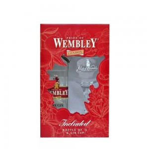 Gin Wembley 1000 ml + Taça