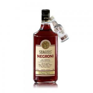 Gin Seagers Negroni com Miniatura 980 ml