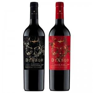 Kit Vinho Casillero Del Diablo Red e Black 750ml