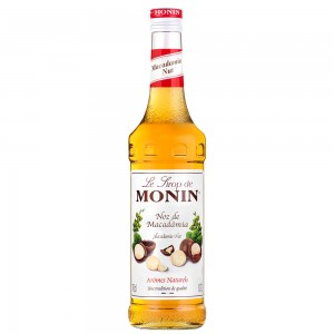 Xarope Monin Noz de Macadamia 700 ml