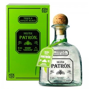 Tequila Patron Silver Blanco 1000 ml