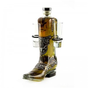 Tequila Rodeo Texano Bota Gold 750 ml