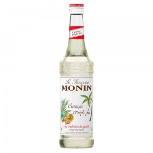 Xarope Monin Curaçao Triple Sec 700 ml