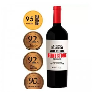 Vinho Fuego Blanco Flintstone Malbec 750 ml