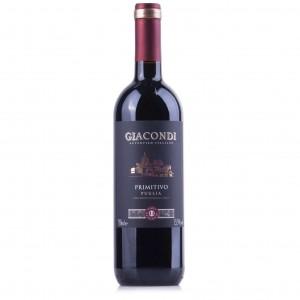 Vinho Giacondi Primitivo Puglia Tinto 750 ml