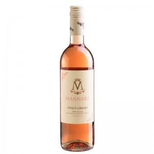 Vinho Mannara Pinot Grigio Rose 750 ml