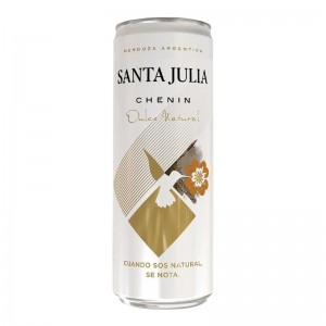 Vinho Santa Julia Chenin Dulce Natural  355 ml LATA