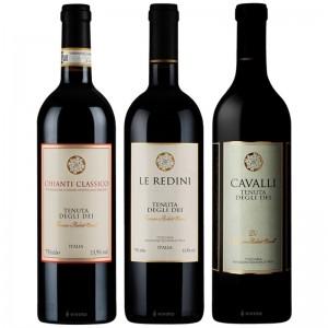 Vinho Tenuta Degli Dei 750 ml Kit com 03 unidades