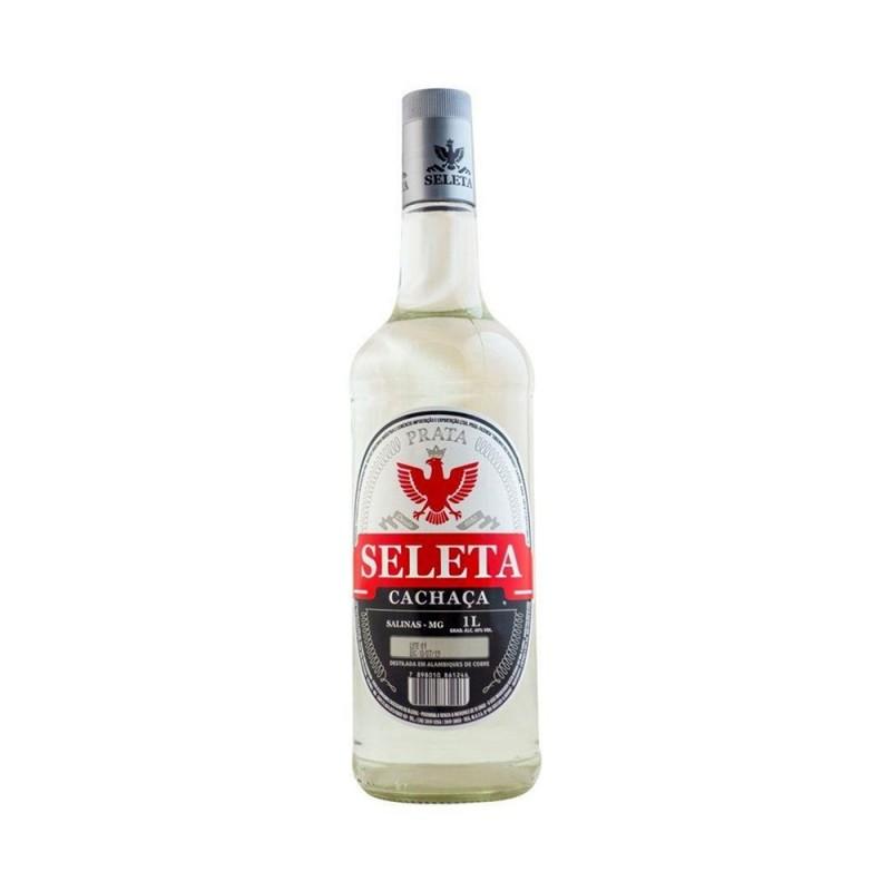 Cachaça Seleta Prata 1000 ml