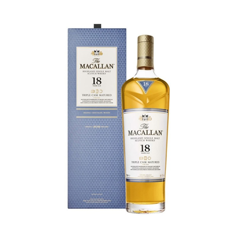 Whisky The Macallan Triple Cask 18 Anos 700 ml