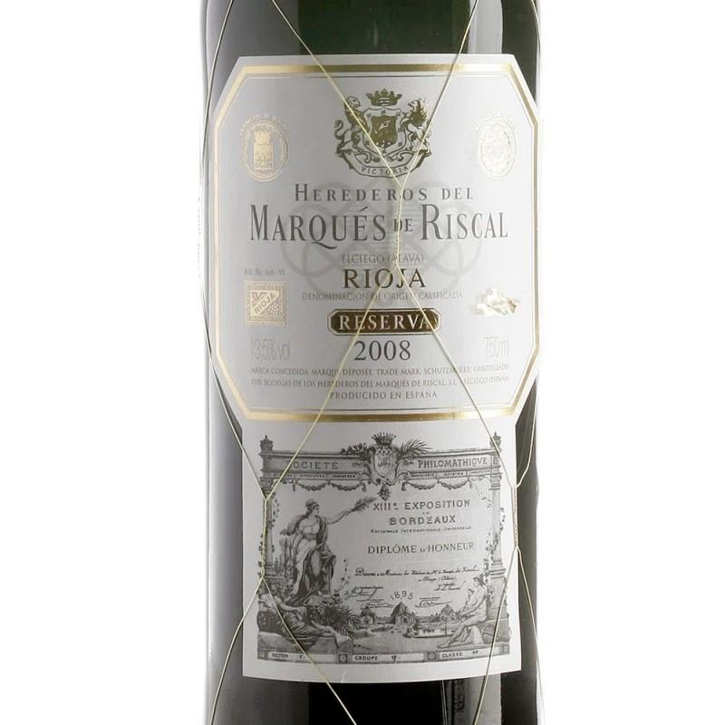 Vinho Marques De Riscal Reserva Rioja