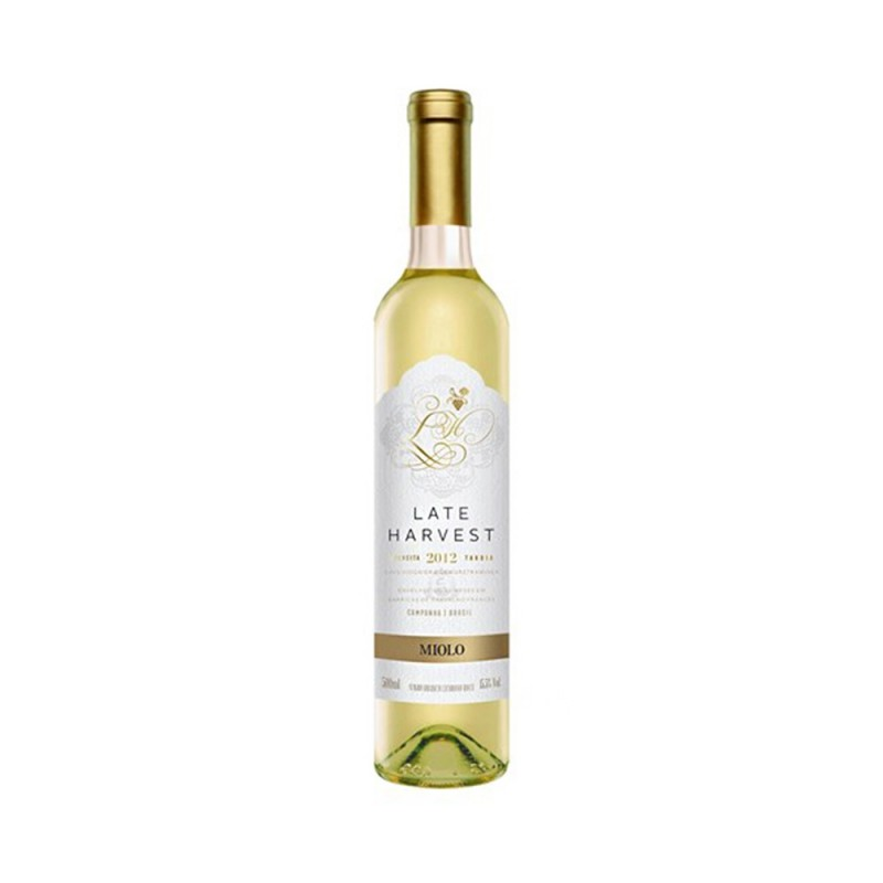Vinho Miolo Late Harvest Colheita Tardia 500 ml
