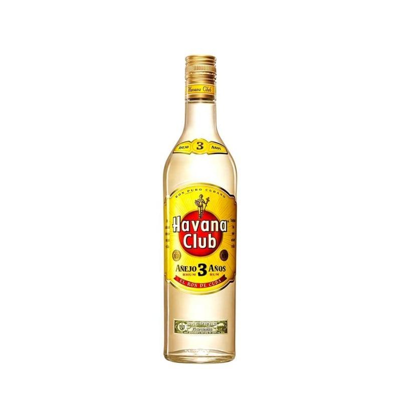 Rum Cubano Havana Club Anejo 3 Anos 750 ml